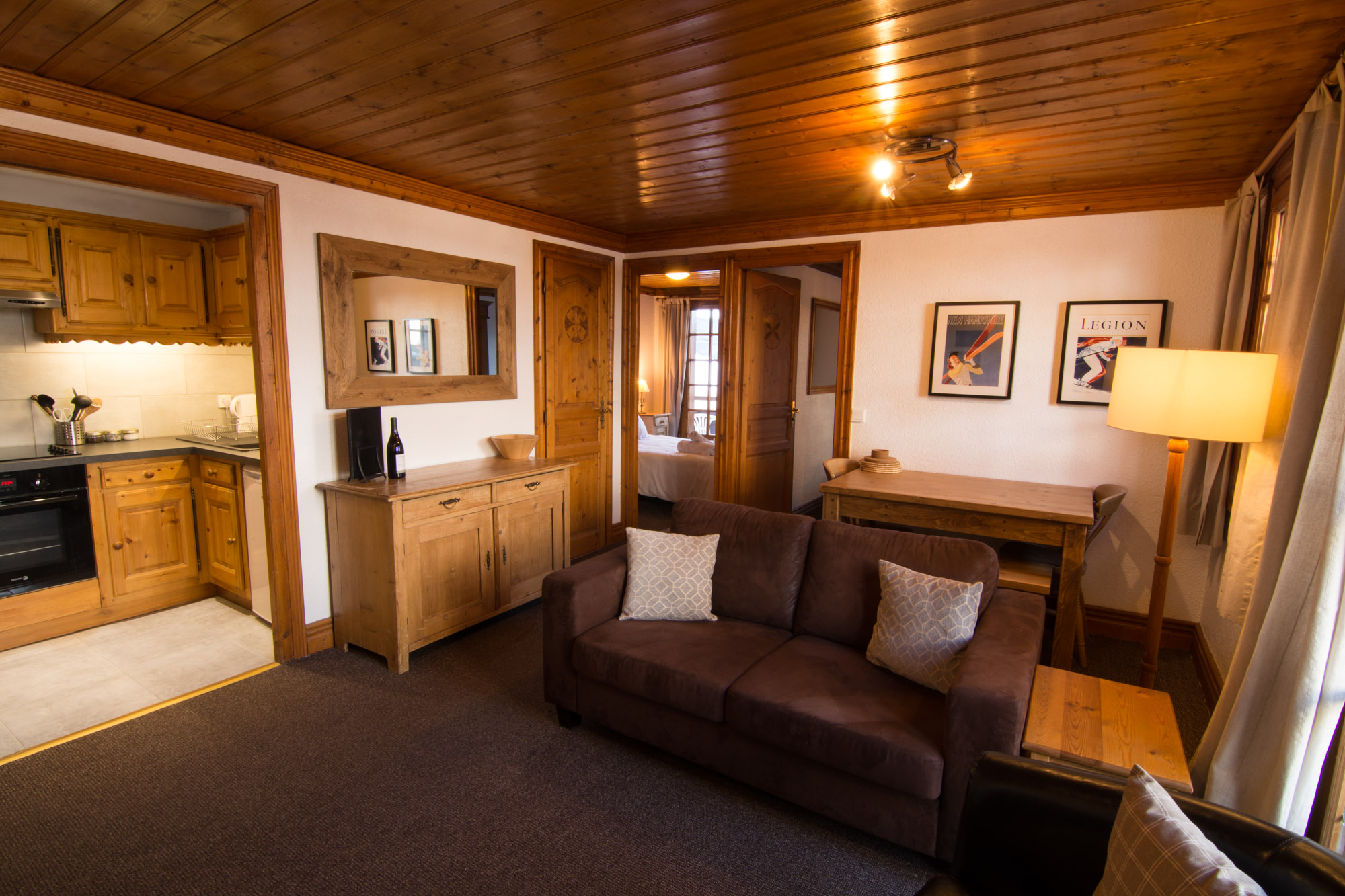 Chalet Alice Velut | Apartment Marguerite - Chalet for rent in the 3 Valleys