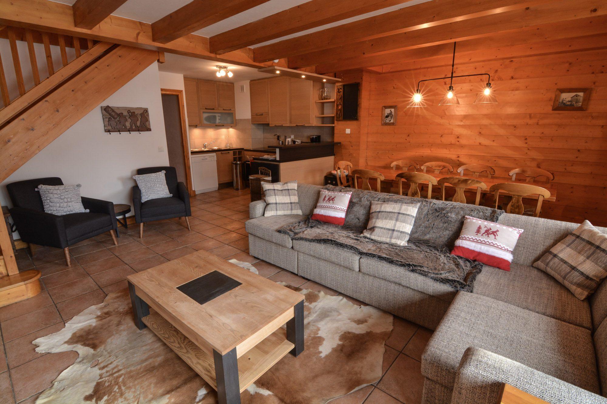Chalet Fruiti 232 Re Camarine Comfortable Family Apartment