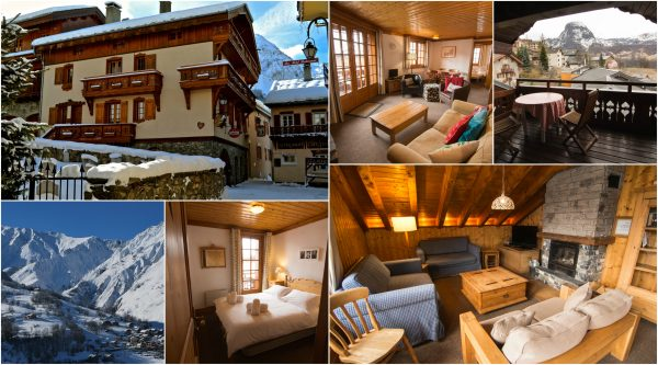 Chalet Alice Velut, chalet apartments 3 valleys, ski apartments in St Martin de Belleville