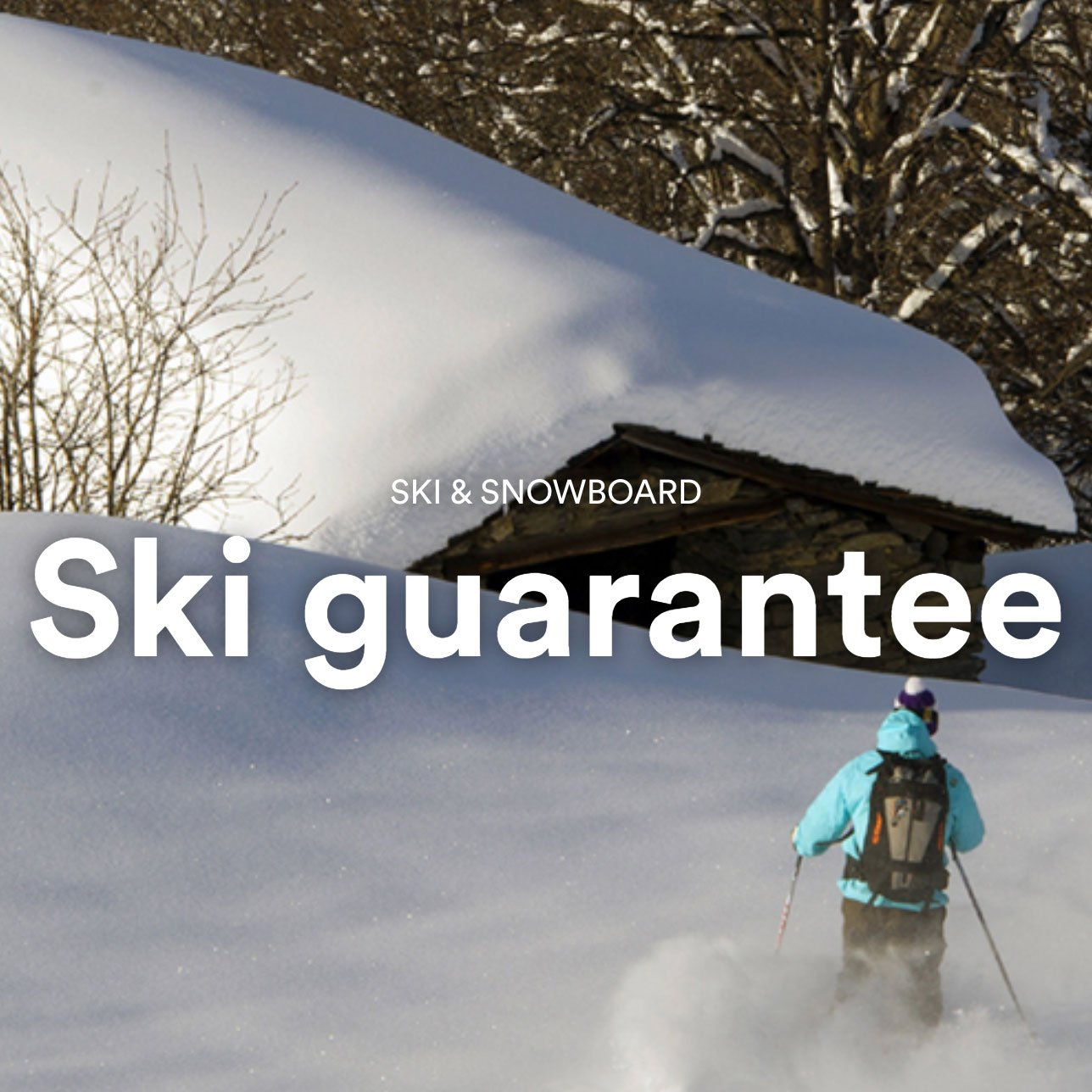 Ski guarantee – 3 Valleys