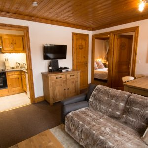 Self-catered apartment in St Martin de Belleville
