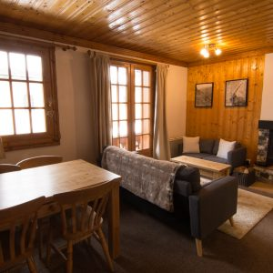 Accommodation for two in St Martin de Belleville