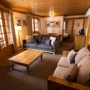 2-bedroom chalet apartment in St Martin de Belleville