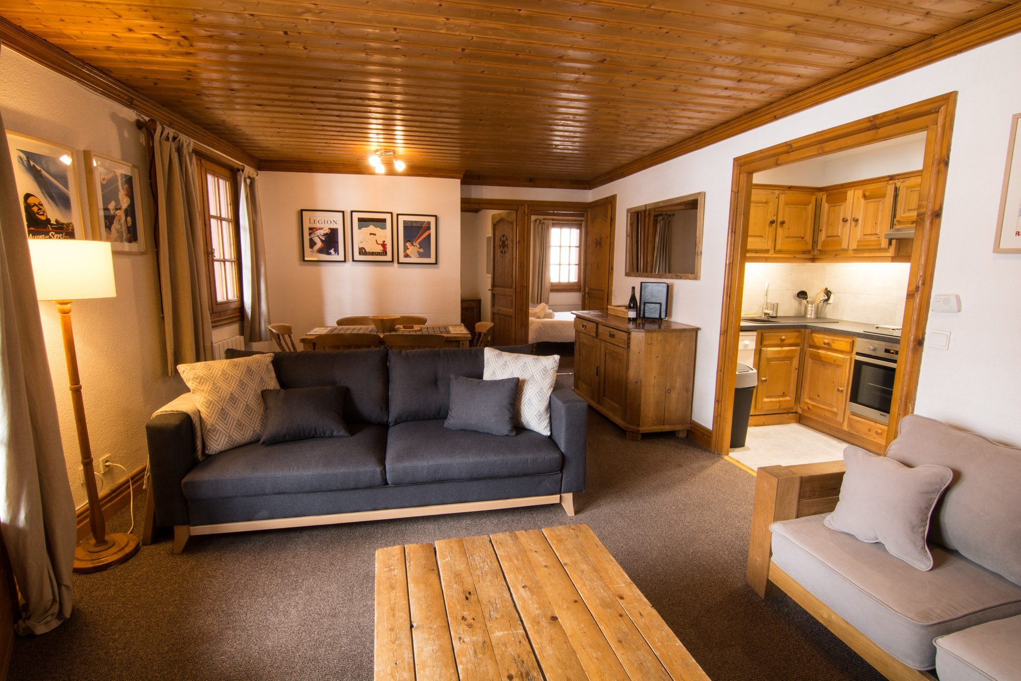 Cosy chalet apartment in village centre