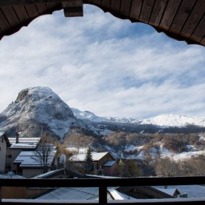 Chalet apartment with mountain views in St Martin de Belleville