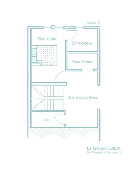 Chalet Le Grand Cœur - Floorplans - First floor
