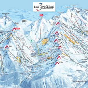 Three Valleys piste map | plan de trois vallées