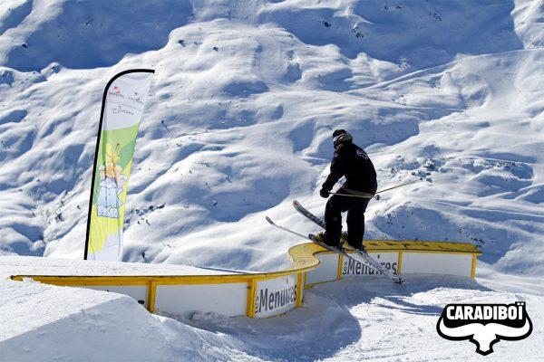 Snowpark Les Menuires, St Martin de Belleville, 3 Valleys
