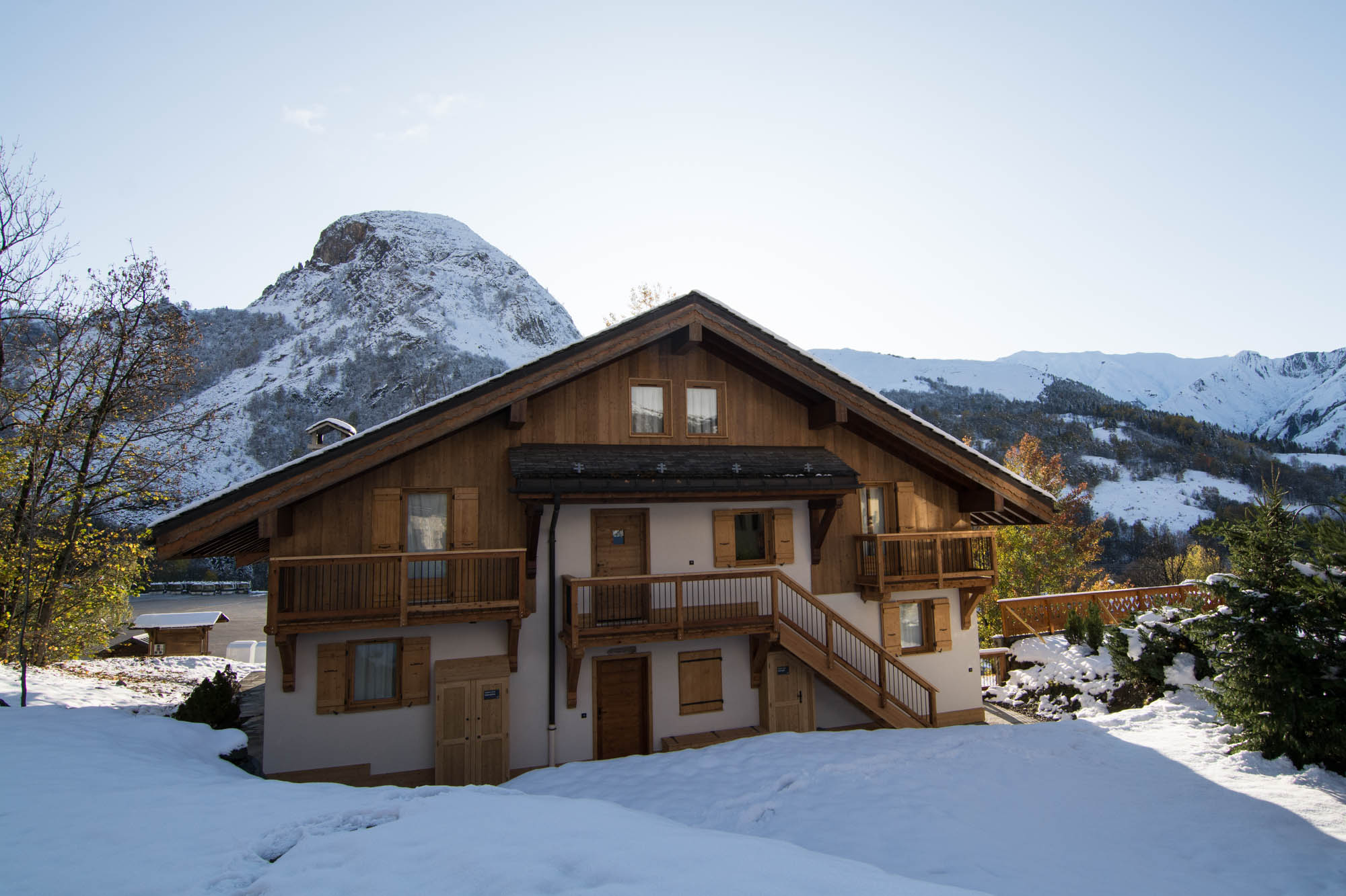 Ski chalet Fruitiere in the heart of the 3 Valleys