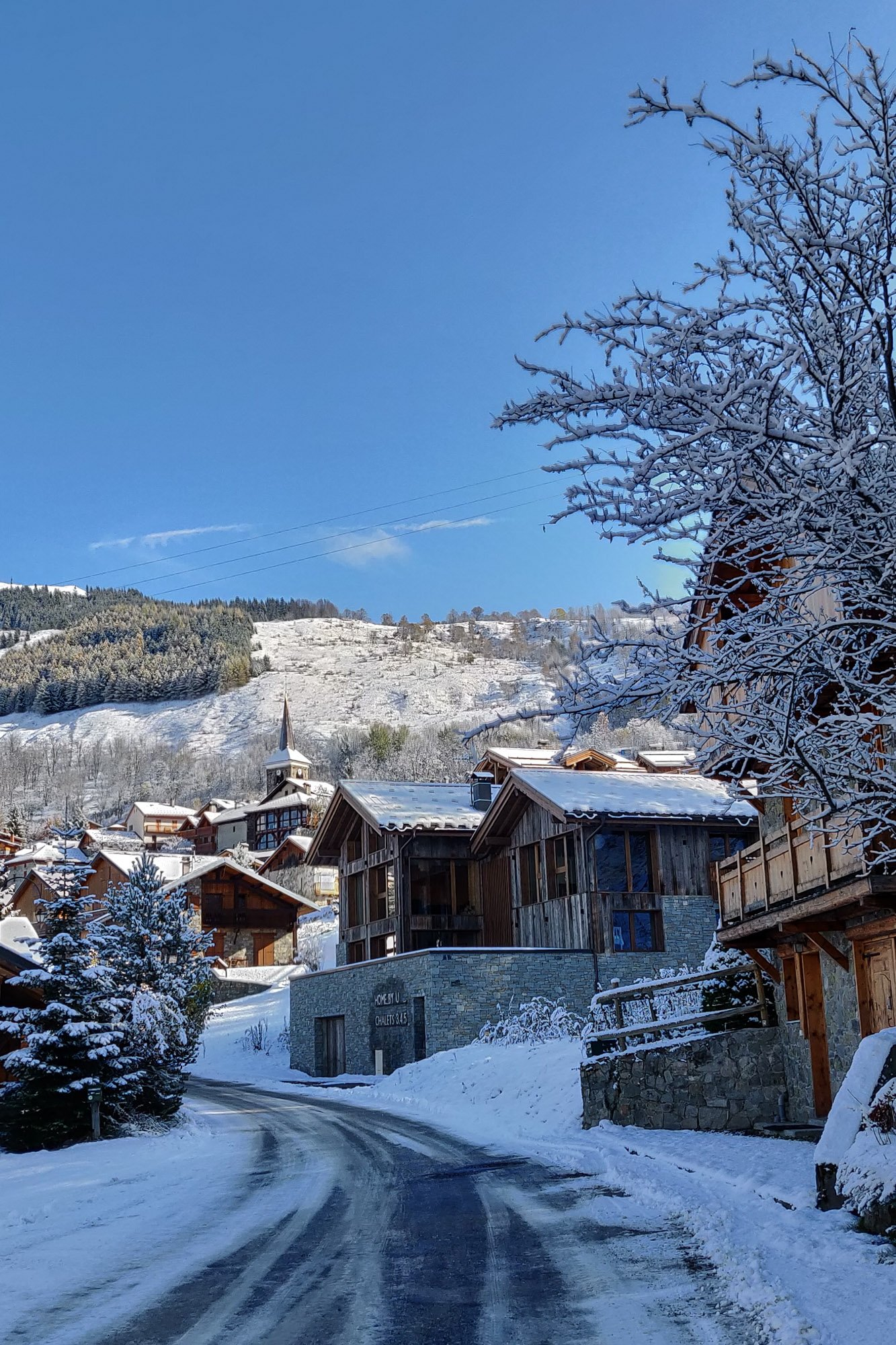 St Martin de Belleville - A traditional ski village
