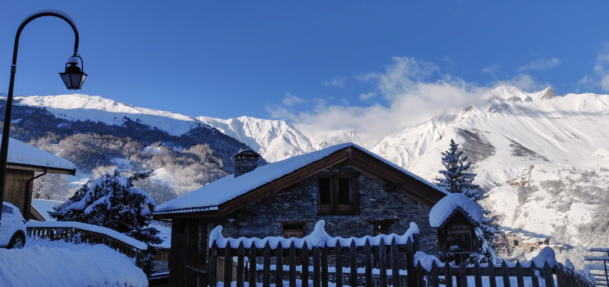 Winter wonderland - Les Granges, St Martin de Belleville