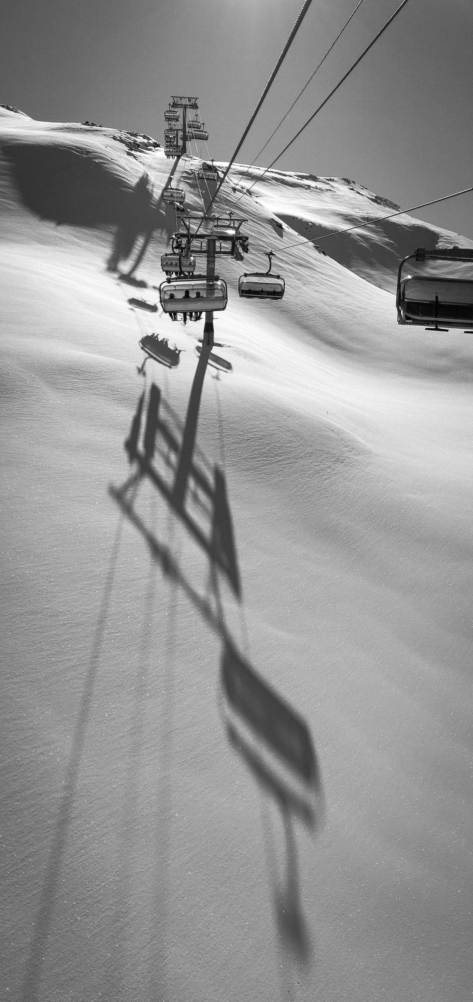 La Grange chairlift - Three Valleys