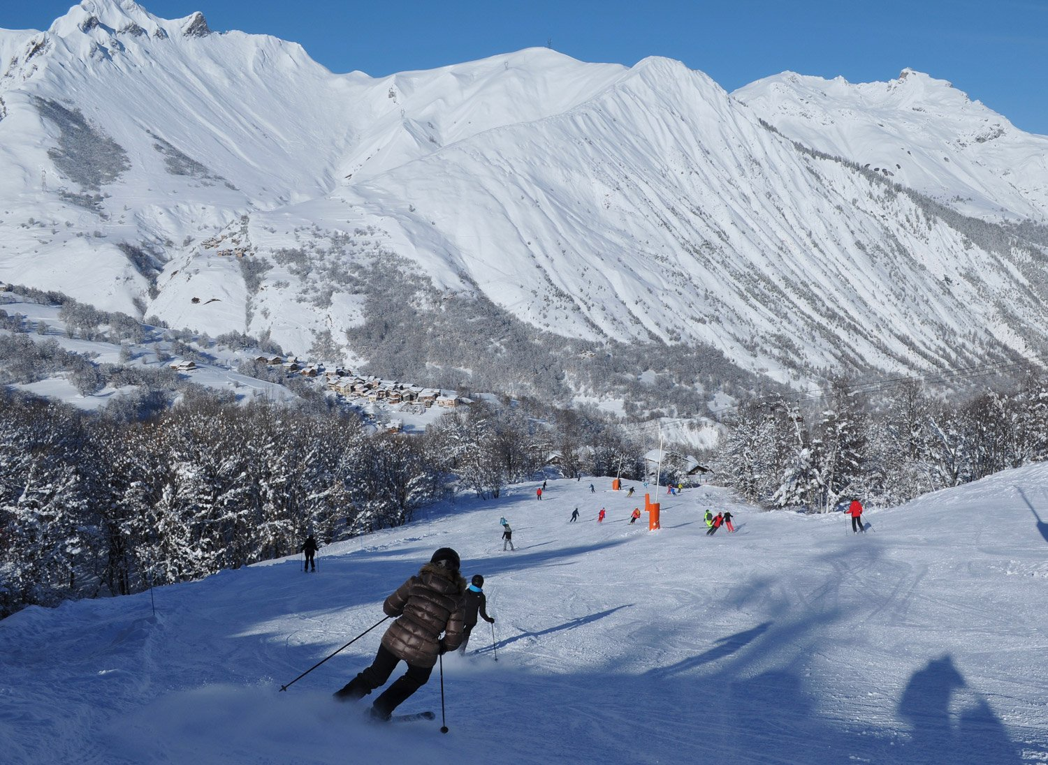 Skiing and Covid